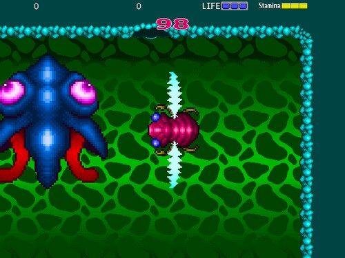 インセクトセイバー Game Screen Shots