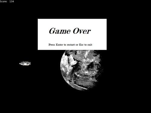 Meteor Missiles Game Screen Shot3