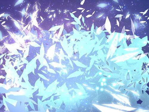 白の世界 Game Screen Shot3