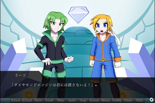 ダイヤモンドエンジンSF Game Screen Shot1