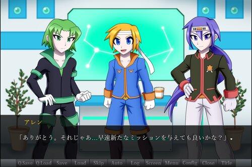 ダイヤモンドエンジンSF Game Screen Shot3