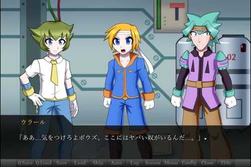 ダイヤモンドエンジンSF Game Screen Shot4