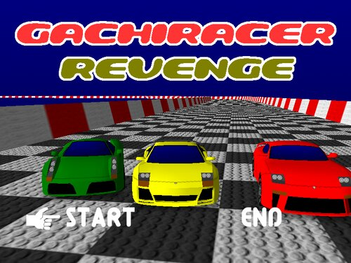 GACHI RACER REVENGE Game Screen Shot