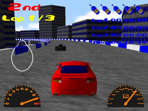 GACHI RACER REVENGE Game Screen Shot3