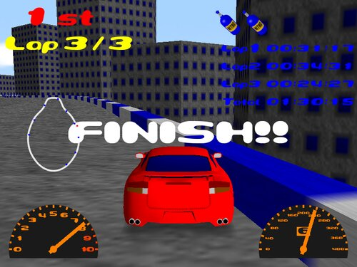 GACHI RACER REVENGE Game Screen Shot5