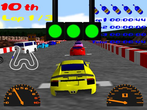 GACHI RACER REVENGE Game Screen Shots