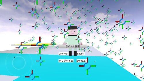 アクションゲーム Game Screen Shot1