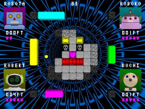 BLOCK BREAKERS Game Screen Shot
