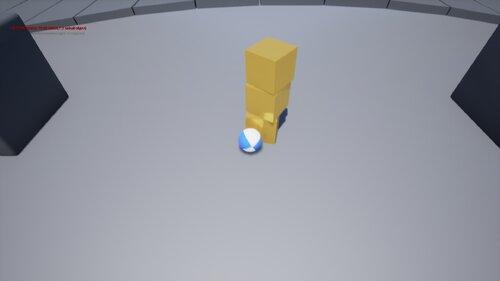 ボーリングゲーム Game Screen Shot