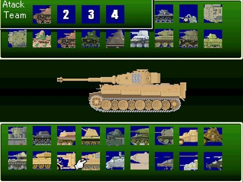 Legend of Tank Game Screen Shot