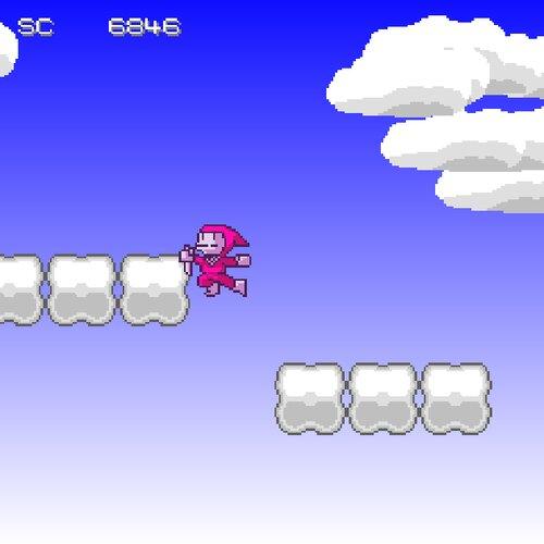 忍法跳弐段 Game Screen Shot2
