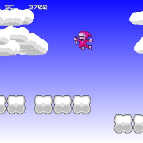 忍法跳弐段 Game Screen Shot3