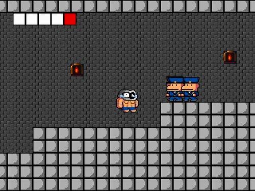 突撃! 囚人くん Game Screen Shot2