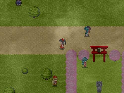 曇天地獄のストーカー Game Screen Shot