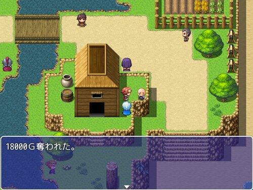 所持金が0になると爆死するRPG Game Screen Shot4
