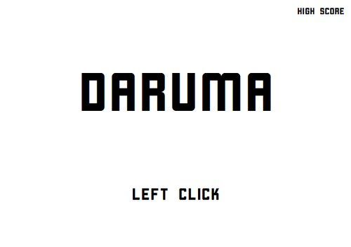 DARUMA Game Screen Shots