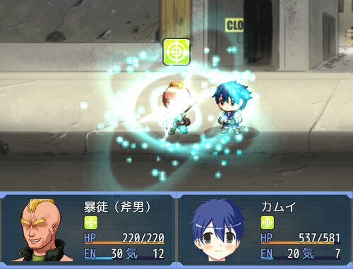 GENESIS HERO'S Game Screen Shots