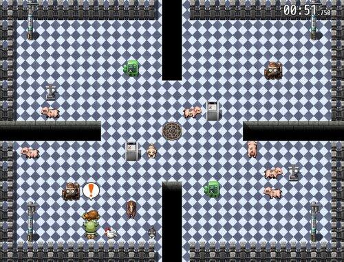 オーク☆カニバリズム Game Screen Shot4