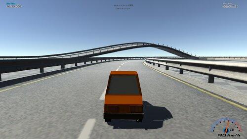 カートゥーン・レーシング Game Screen Shot