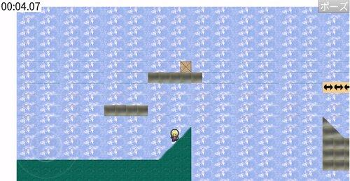 2Dアクションゲーム Game Screen Shot