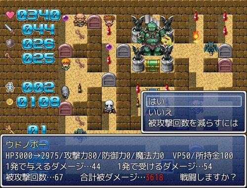 魔塔の国のアリス Game Screen Shot2