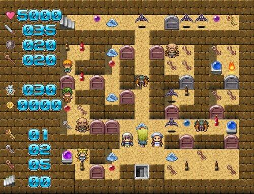 魔塔の国のアリス Game Screen Shot3