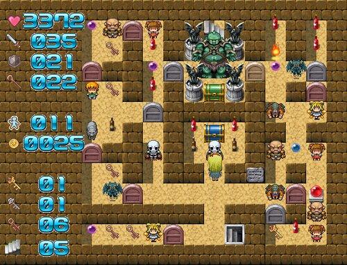 魔塔の国のアリス Game Screen Shot4