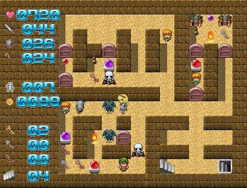 魔塔の国のアリス Game Screen Shot5
