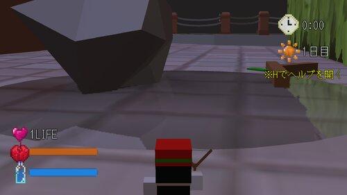逃げ暮らしの弱ムッシー<α版> Game Screen Shots