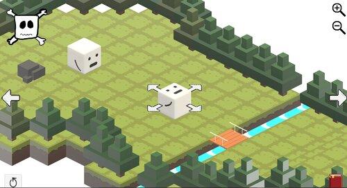 しかくいやつ2 Game Screen Shot1