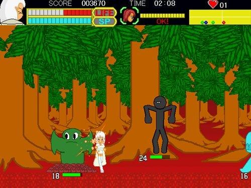 ラメントパーティー Game Screen Shot1