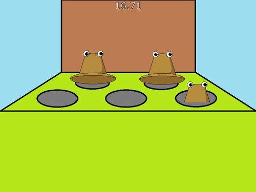 けろちゃんたたき Game Screen Shot1
