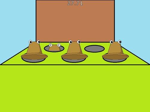 けろちゃんたたき Game Screen Shot2