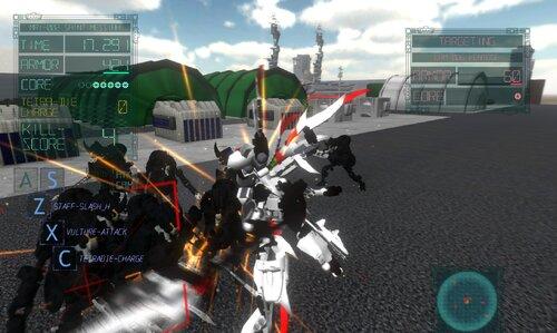 ARMHEAD セイントメシア無双 Game Screen Shot1