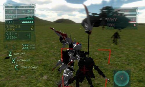 ARMHEAD セイントメシア無双 Game Screen Shot2