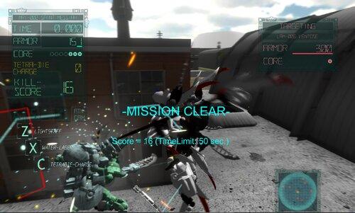 ARMHEAD セイントメシア無双 Game Screen Shot3