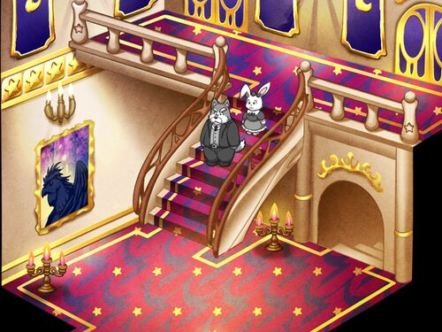Sebastian and Little lady Butler of Love Game Screen Shot4