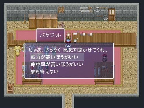 エレメンティア・メンバーズ Game Screen Shot1