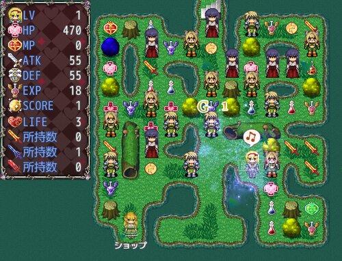 新春! レヴィアたんの挑戦状 Game Screen Shot3