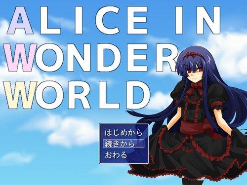 ALICE IN WONDER WORLD Game Screen Shot1