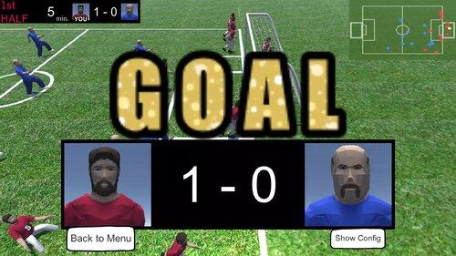 oneteam soccer Game Screen Shot3