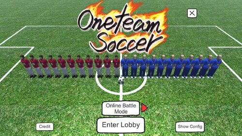 oneteam soccer Game Screen Shots