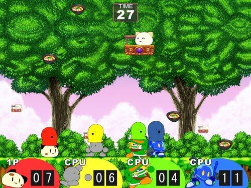 対戦うどん祭り Game Screen Shot