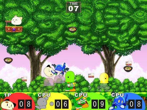 対戦うどん祭り Game Screen Shot2
