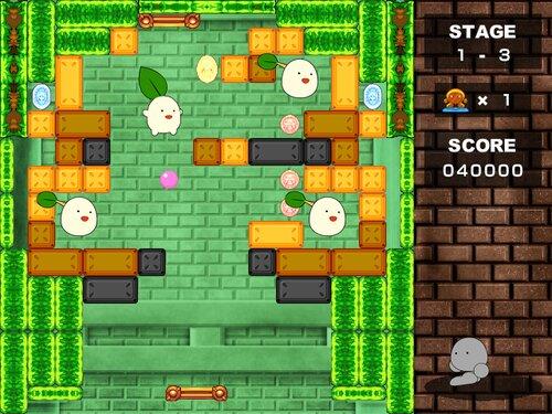 メテオのブロックボール Game Screen Shot1