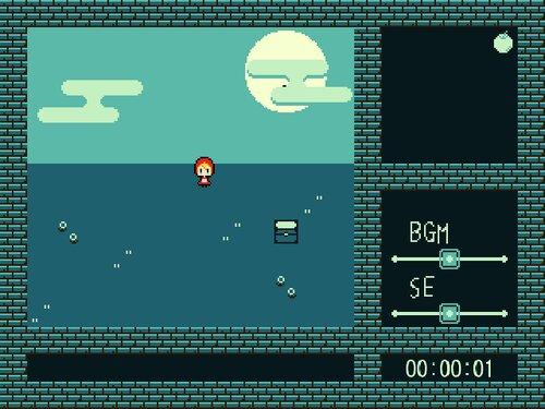赤ずきん in 青の世界 Game Screen Shot1