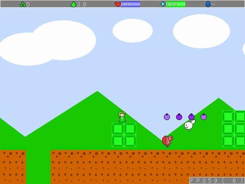 グリーンクの冒険2 Game Screen Shot2