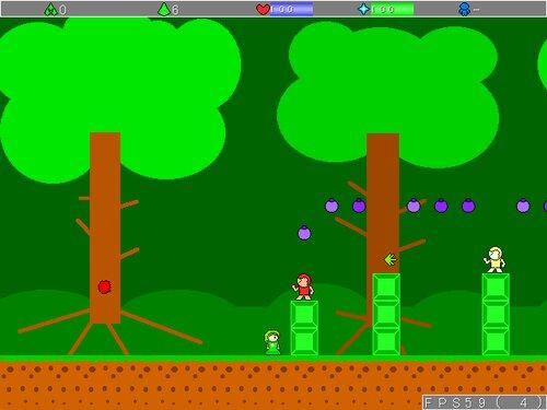 グリーンクの冒険2 Game Screen Shot4