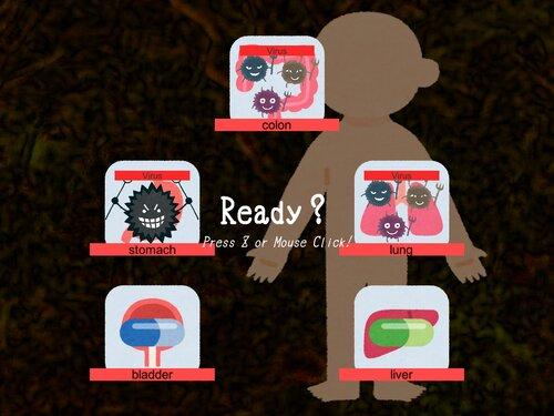 VirVacc Game Screen Shot