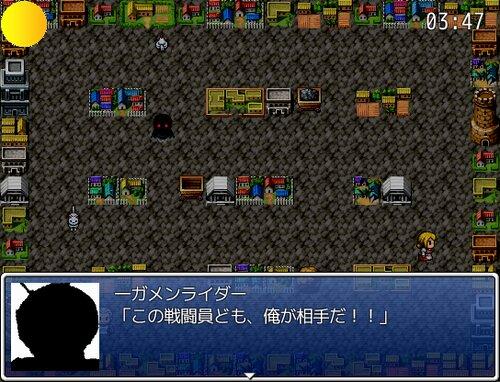 一ガメンライダー影 Game Screen Shot2